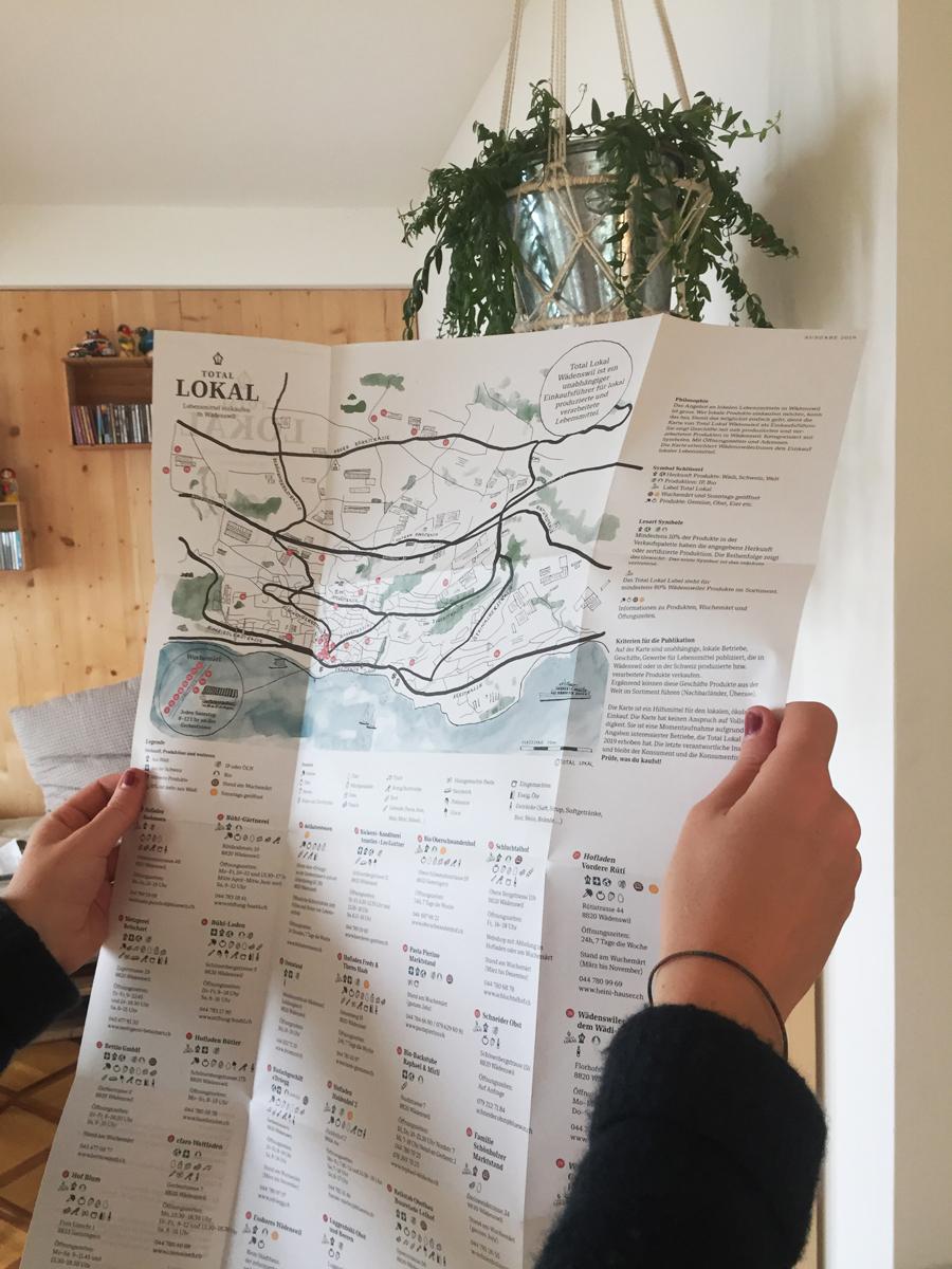 Total Lokal Die Karte
