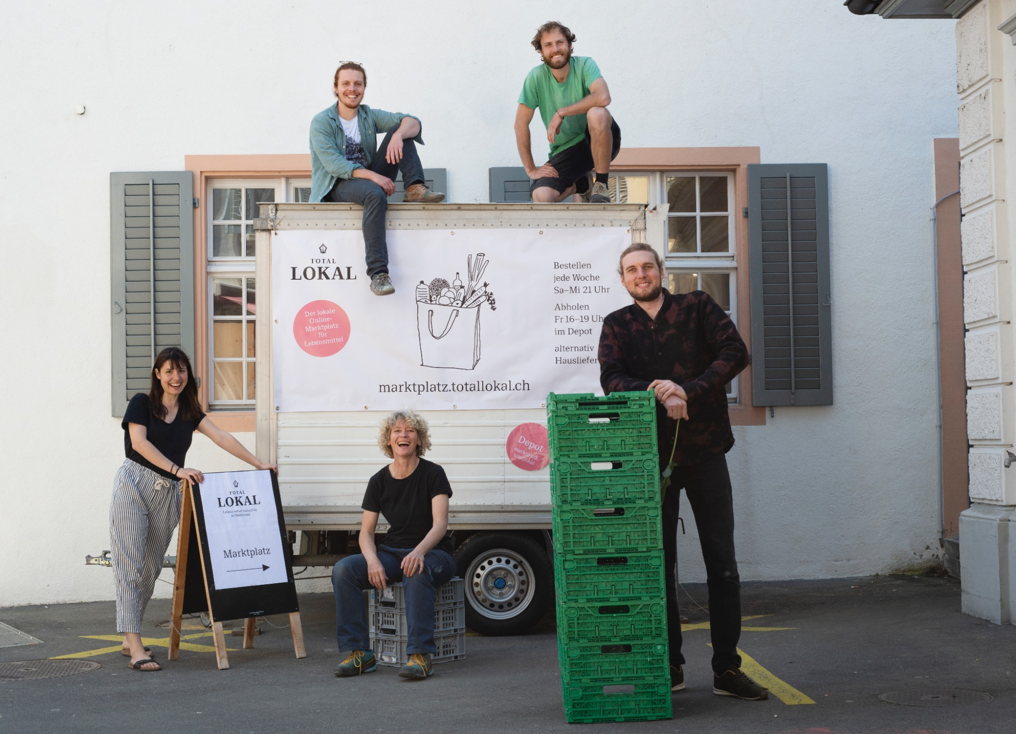 Total Lokal Marktplatz Team
